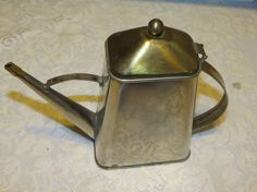vintage oil can by MyVintageAngels on Etsy, $18.00