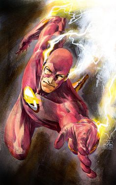 Wally West: The Flash by Philip Tan Marvel Comics, Marvel E Dc, Dc Comics Art, Anime Comics, Wally West, Comic Books Art, Comic Art, Superman, Batman Art