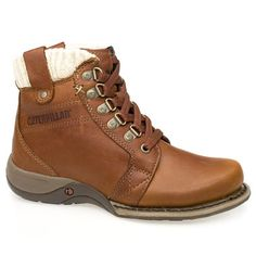 Caterpillar Nettie The new Nettie is a lightweight 5 womens boot with the Caterpillar legendary build quality as standard. Leather upper. http://www.comparestoreprices.co.uk/womens-shoes/caterpillar-nettie.asp