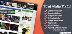 Buy Viral Media Portal by Nexthon on CodeCanyon. Viral Media Portal Viral Media Portal is advanced yet easy to setup and use php script that lets you create media pu.