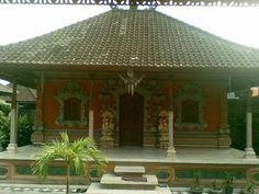17.Province Bali Indonesia - Bali traditional house
