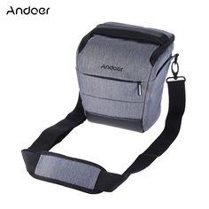 Andoer DSLR Camera Bag Polyester Shoulder Bag Camera Case for Canon Nikon Fujifilm Olympus Panasonic Camera Lens Accessories //Price: $26.50      #sale