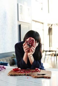 {Beautiful Pomegranate} http://eye-swoon.com/the-kasbah-chronicles/