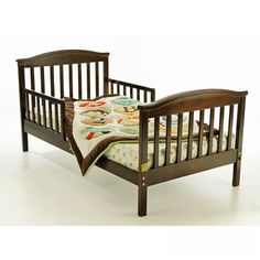 Dream On Me Mission Style Toddler Bed in Espresso - 647-E