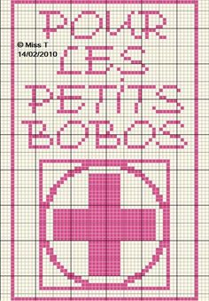Salle de bains - bathroom - pharmacie - point de croix - cross stitch - Blog : http://broderiemimie44.canalblog.com