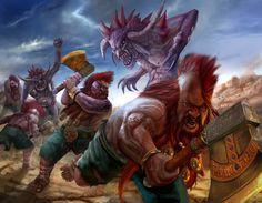 Troll Slayer Warhammer by masterchomic.deviantart.com on @deviantART