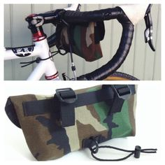 Handlebar Bag - For more great pics, follow www.bikeengines.com
