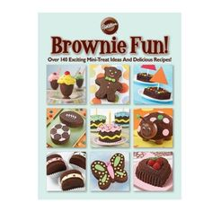 It's the book that proves brownies can be as colorful and fun as your favorite party treats! In Brownie Fun!, the fudgy treats everyone love. Wilton Cake Decorating, Cake Decorating Supplies, Book Cupcakes, Cupcake Cakes, Cup Cakes, Brownies, Brownie Cake, Yummy Treats, Yummy Food