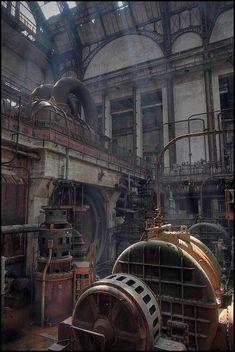 abandoned generating station