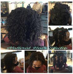 Hair Studio, Locs, Natural Hair Styles, Nature, Naturaleza, Goddess Braids, Nature Illustration, Off Grid, Braided Pigtails