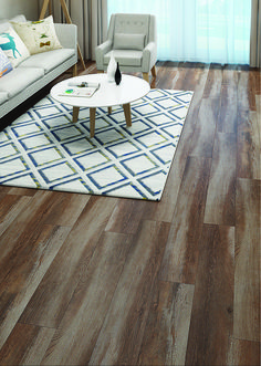 Color: Bayside  ScubaTech™ combines the beauty of natural hardwood with the durability of laminate flooring plus the added benefit of water resistance.
