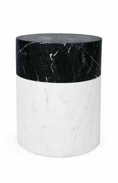 For Sale on - A graphic stool executed is Kelly's signature Negro Marquina and white Calcutta marble, the Ska marble stool perfect for outdoor or indoor seating, as Contemporary Furniture, Luxury Furniture, Furniture Design, Classic Furniture, Recycled Plastic Adirondack Chairs, Retro Bathrooms, Interior Desing, Kelly Wearstler, Texture