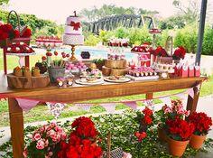 Festa Piquenique: um verdadeiro sonho! Picnic Birthday Party: a true dream!