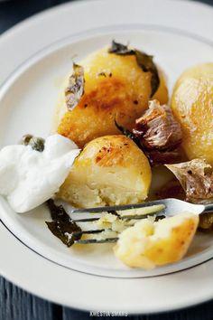 squaremeal:    (via Pieczone ziemniaki - Przepis)