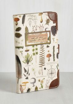 Environmental Expedition Travel Wallet. With the great outdoors as your guide, you eagerly enter your inter-natural adventure with a backpack of the essentials and this wilderness-printed travel wallet from Disaster Designs! #multi #modcloth