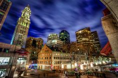 Faneuil Hall & South Market, Downtown, Boston, Massachusetts