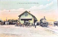 #Provincetown, #CapeCod Railroad Station 1920 | #RemainingInProvincetown