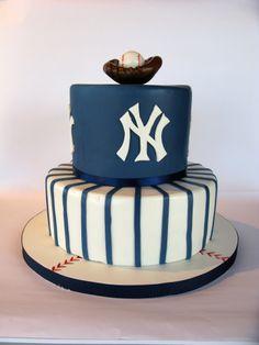 NY Yankee cake, baseball cake
