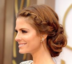 If you're need a range of dance hairstyles to keep your hair under control through lots of energetic movements!Elaborate upstyles are worn for some types of dance, but there's also been a move towards funky, edgy urban dance hairstyles that anyone can do Braided Bun Hairstyles, Dance Hairstyles, Braided Updo, Braided Side Buns, Low Bun Braid, Classy Updo Hairstyles, 1920s Hairstyles, Low Updo, Updos Hairstyle
