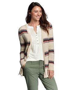 Women's Open Boyfriend Cardigan Sweater | Eddie Bauer