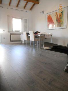 Grey tone wood flooring