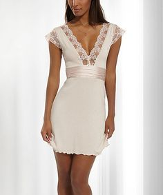 This Powder Lizette Chemise is perfect! #zulilyfinds
