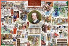 William Shakespeare and His Plays Jigsaw Puzzle