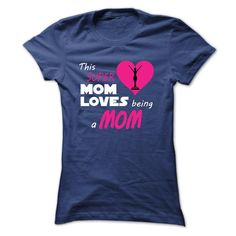 Super Mom Love Being Mom T-Shirts, Hoodies. VIEW DETAIL ==►…
