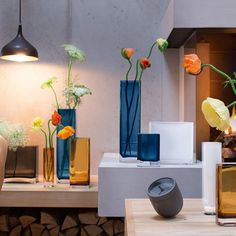 Sleek and stylish modular glassware shot on location for @lsainternational. #lsainternational #glassware #industrial #design #stillife #lifestyle #style #concrete #wood #lighting