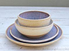 Wedding Dinnerware Registry Dinnerware Ceramic por jclayPottery
