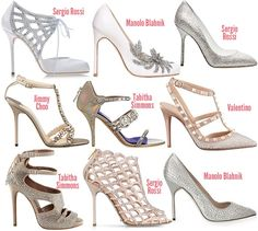Popular designer wedding shoes – Top wedding USA blog
