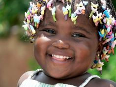 Nothing makes me happier than baby smiles.  Photo taken in the Ivory Coast (Cote d'Ivoire)