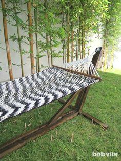 hammock stand indoor outdoor h ngematte und selbermachen. Black Bedroom Furniture Sets. Home Design Ideas