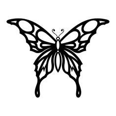Tribal butterfly tattoo, butterfly stencil, butterfly template, butterfly d Tribal Butterfly Tattoo, Butterfly Outline, Butterfly Stencil, Butterfly Drawing, Butterfly Tattoo Designs, Butterfly Template, Butterfly Design, Tribal Tattoos, Crown Template