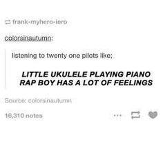 Twenty one pilots funny Twenty One Pilot Memes, Tenacious D, Screamo, Top Memes, Band Memes, Tyler Joseph, My Escape, Pentatonix, Favim