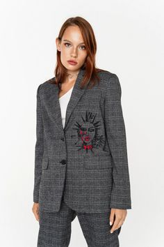 Жакет женский 2031536623, цвет: принт по цене 2699 рублей - купить в Интернет-магазине «Befree» Shopping, Free