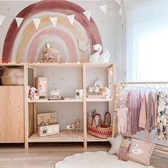 New girls bedroom rainbow ideas