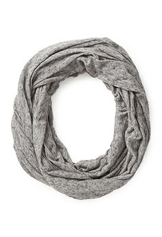 You know how I love scarves: No-Fuss Marled Infinity Scarf | FOREVER21