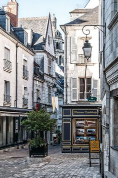 France Travel Inspiration - loches, france   villages and towns in europe