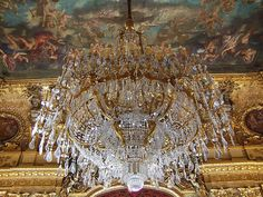 Louvre Chandelier