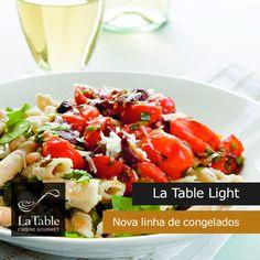 La Table lança linha de comida congelada light para 2016.