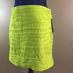 Heart Soul Lime Green Fitted Womans XL X Large Skirt Business Attire NWT    eBay