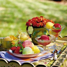 Perk up your summertime gathering with this enticing watermelon dessert recipe.