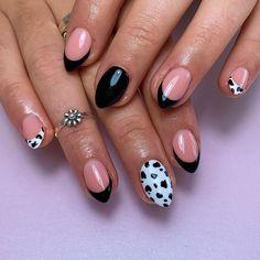 Cheetah Nail Designs, Leopard Print Nails, Lilac Nails With Glitter, Glitter Nails, Rainbow Nails, Neon Nails, Colored Nail Tips, French Tip Nail Art, Work Nails
