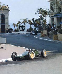 Jim Cark, Cassino square, Monaco 1963.