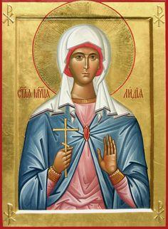 мученица Лидия Иллирийская