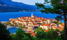 An ultra-relaxing break to Korcula on Croatia's Dalmatian Coast Croatian Coast, Croatian Islands, Away We Go, Dry White Wine, Stone Houses, Beach Look, 14th Century, Art Club, Old Town