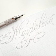Cursive Calligraphy, Flourish Calligraphy, Brush Pen Calligraphy, Penmanship, Tattoo Lettering Fonts, Brush Lettering, Ipad Hacks, Writing Styles, Christmas Greeting Cards