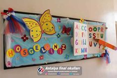 Welcome To School, Board Decoration, School Decorations, Bulletin Boards, Booklet, Toy Chest, Back To School, Psychology, Crafts For Kids
