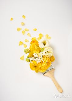 #flower #brush #paint #idea #stockimage #stockphoto #npine #iclickart